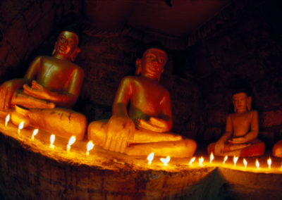 Sitting Buddahs
