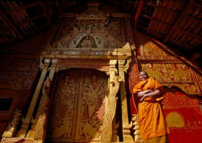 Temple Monk